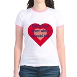 Share My Heart Jr. Ringer T-Shirt