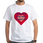Share My Heart White T-Shirt