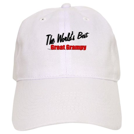 """The World's Best Great Grampy"" Cap"