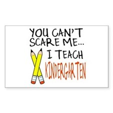 Kindergarten Teacher Rectangle Decal