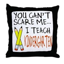 Kindergarten Teacher Throw Pillow
