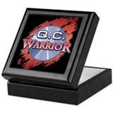 """Q.C. Warrior"" Keepsake Box"