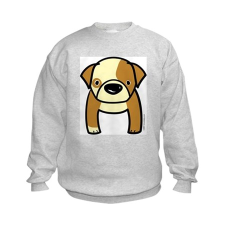 Bulldog Puppy Kids Sweatshirt