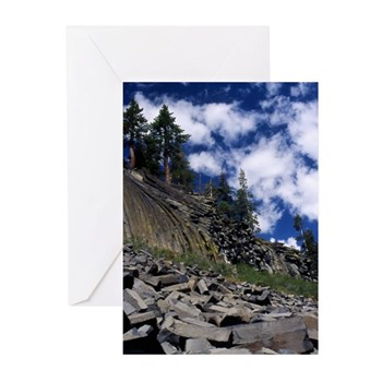 Devil's Postpile Greeting Cards (Pk of 20)