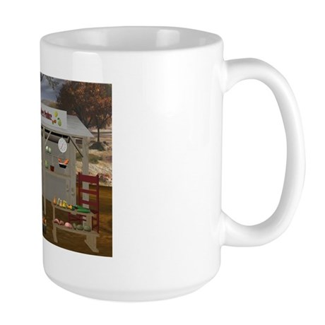 The Vegetable Stand Large Mug