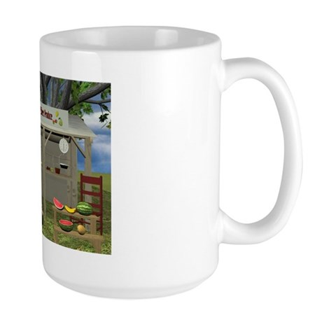 The Fruit Stand Large Mug