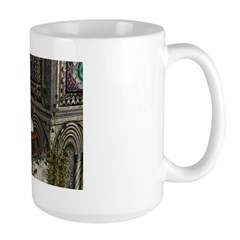 Romanesque Balcony Large Mug