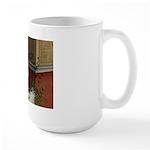 Summer Siesta Balcony Large Mug