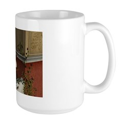 Summer Siesta Balcony Large Mug
