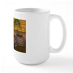 Jewels of India (Purple) Large Mug