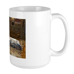 Grandma's Feathered Bed Large Mug