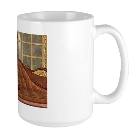 Flight of the Swan (Elegant) Large Mug