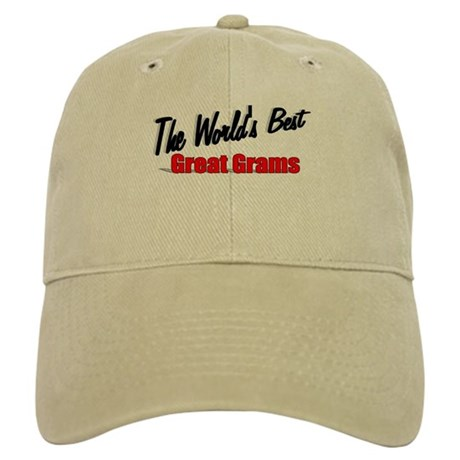"""The World's Best Great Grams"" Cap"