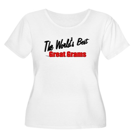 """The World's Best Great Grams"" Women's Plus Size S"