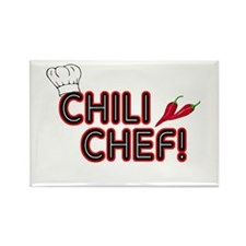 Chili Chef Rectangle Magnet