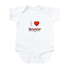 I Love Bogor Infant Bodysuit