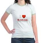 I Love Batam Jr. Ringer T-Shirt