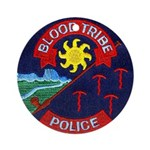 Blood Tribe Police Ornament (Round)