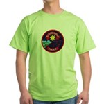 Blood Tribe Police Green T-Shirt