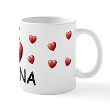 I Love Raina - Mug