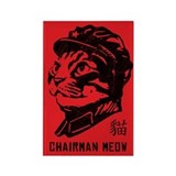 Chairman Meow - Cat Propaganda Magnet