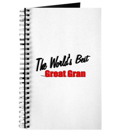 """The World's Best Great Gran"" Journal"