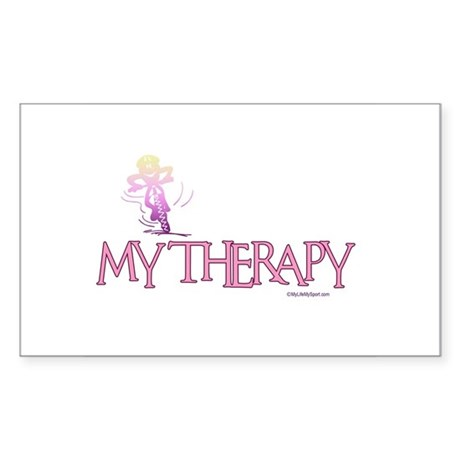MY THERAPY Rectangle Sticker