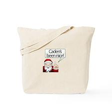 Caden's Been Nice Tote Bag