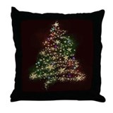 Starry Tree Throw Pillow