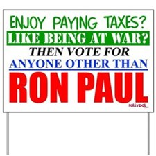 Other Than Ron Paul Yard Sign
