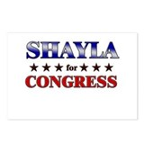 SHAYLA for congress Postcards (Package of 8)