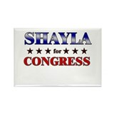 SHAYLA for congress Rectangle Magnet