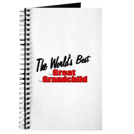 """The World's Best Great Grandchild"" Journal"