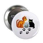 Fish Bowl Kittys 2.25&quot; Button