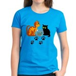 Fish Bowl Kittys Women's Dark T-Shirt