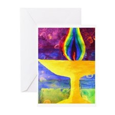 chalice21pp Greeting Cards