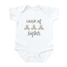 Cousin of Triplets Babies Infant Bodysuit