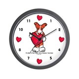 Cute Love cathie Wall Clock