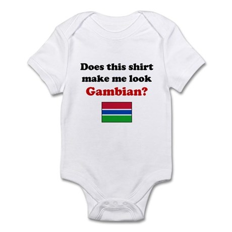 Make Me Look Gambian Infant Bodysuit