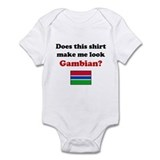 Make Me Look Gambian Onesie