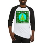 Go Green For Christmas Baseball Jersey