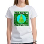 Go Green For Christmas Women's T-Shirt