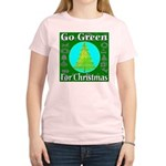 Go Green For Christmas Women's Light T-Shirt