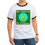 Go Green For Christmas Ringer T