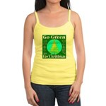 Go Green For Christmas Jr. Spaghetti Tank