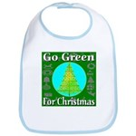 Go Green For Christmas Bib