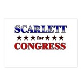 SCARLETT for congress Postcards (Package of 8)