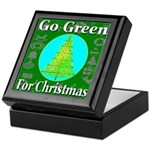 Go Green For Christmas Keepsake Box