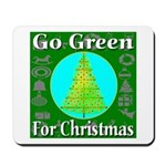 Go Green For Christmas Mousepad