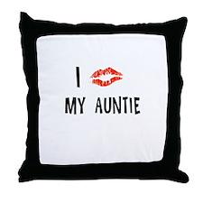 MY AUNTIE Throw Pillow